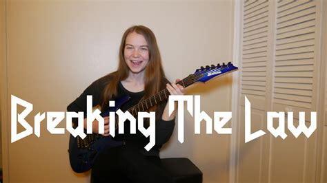 Breaking The Law - Judas Priest (Guitar Cover) - YouTube