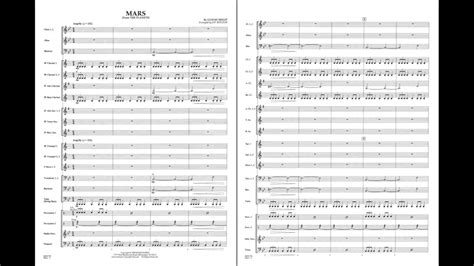 Mars (from The Planets) by Gustav Holst/arr