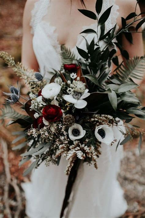 Top 25 Moody Wedding Bouquets for 2018 Trends - Page 3 of