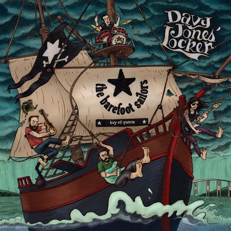 """2016-04-28 EP REVIEW - THE BAREFOOT SAILORS """"Davy Jones"""