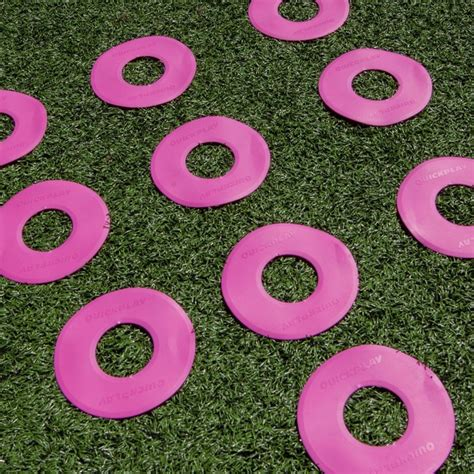 QUICKPLAY - Pink Flat Markers x10