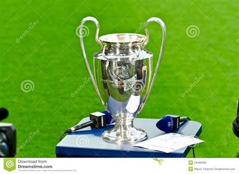 UEFA Champions League Cup 2012 Editorial Image - Image