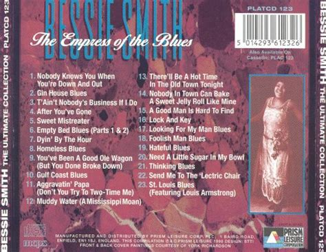 The Ultimate Collection - Bessie Smith | Songs, Reviews