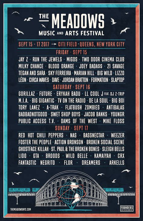 The Meadows announces 2017 daily lineups & single day tix
