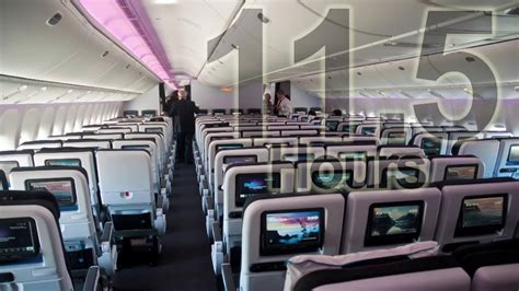 Boeing 777 Cabin Sounds HD - 11