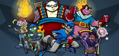 Meet the PlayStation Move Heroes: Sly Cooper and Bentley