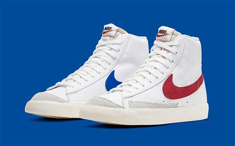 Nike Blazer Mid 77 Returns in Racer Blue and Regal Red for
