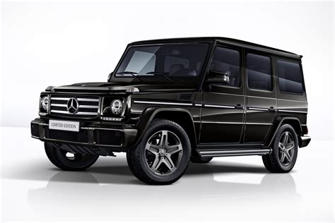 Mercedes-Benz G-Klasse in drie limited editions