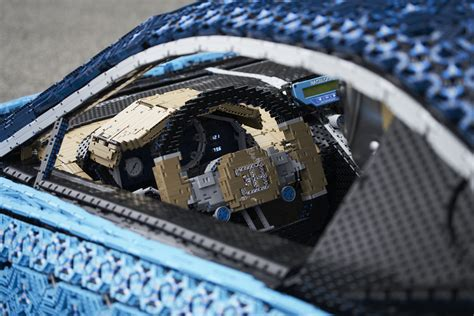 Lego Built A Life-Size Bugatti Chiron That You Can