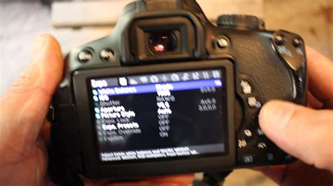 How To Check Shutter Actuations Canon Rebel T4i 650D Magic