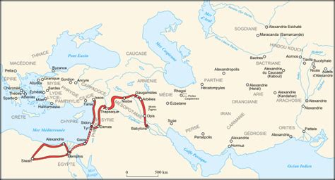 File:Alexander III conquest from Issos to Babylon-fr