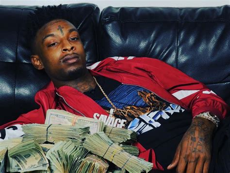 Up And Coming Rapper 21 Savage Has More Bling Than Whiz