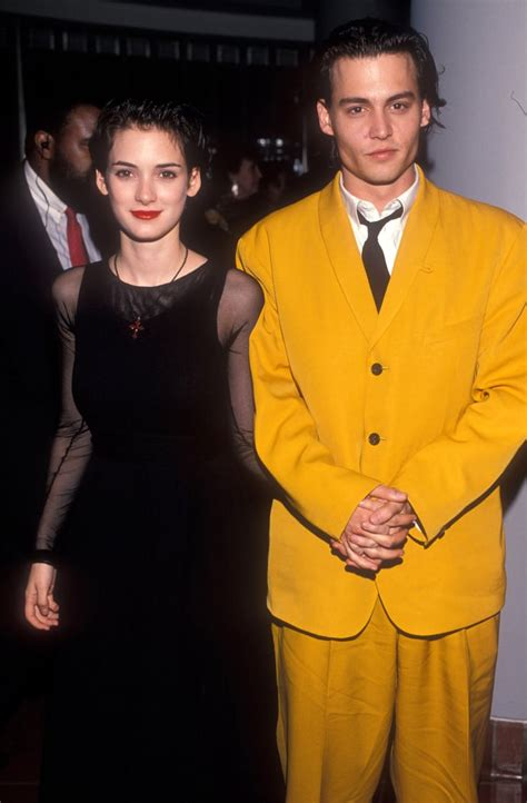 Johnny Depp and Winona Ryder | Celebrity Couples From the