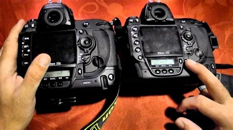Nikon D3x vs D3s - hands on review (NEW) - YouTube