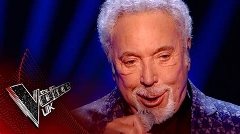 Tom Jones performs 'You Can Leave Your Hat On' | The Voice