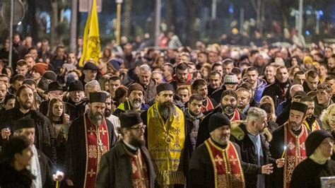 Serbian Church Supporters Stage Mass Protests in
