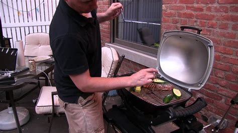 Weber Q140 Electric Grill Demo and Review - YouTube