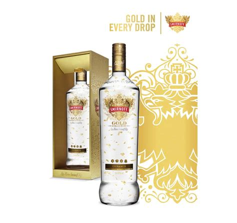 Smirnoff creates Vodka infused with Gold | The Rich Times