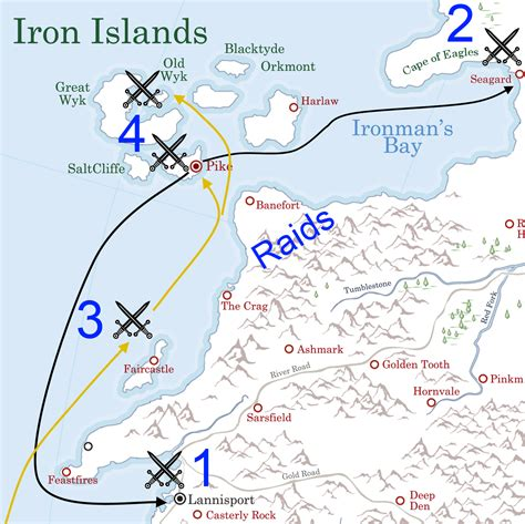 Greyjoy's Rebellion - A Wiki of Ice and Fire