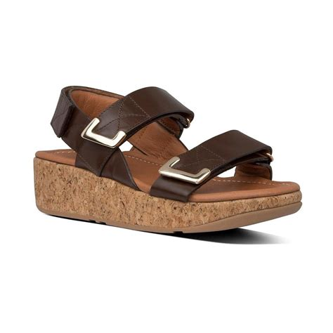 Fitflop Remi Chocolate Brown - Senter Sko Sport and