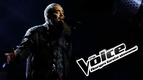 Thomas Løseth - With Or Without You | The Voice Norge 2017