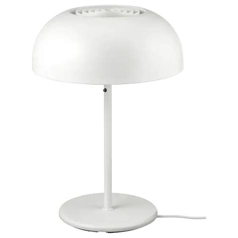 NYMÅNE Table lamp with LED bulb, white - IKEA in 2020